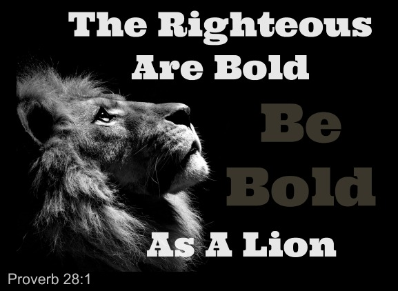 Proverbs 28:1, Righteous Are bold As A Lion