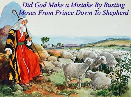 christian quote, moses as a shepherd