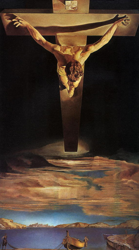Christ of St John of the cross, salvador dali