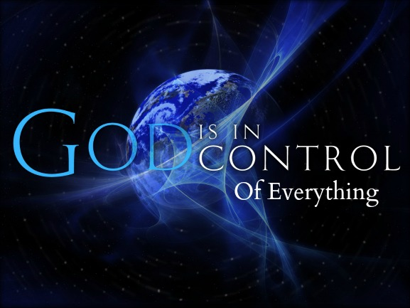 god is in control, quote