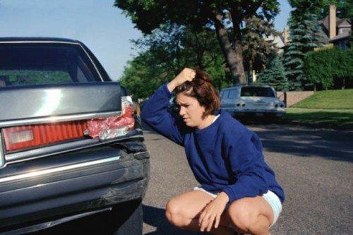car accident, fender bender