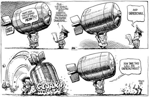 North Korea, Cartoon, kim Jong Il