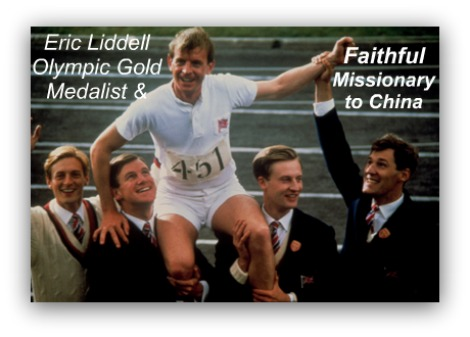 eric liddell, gold medal, chariots of fire