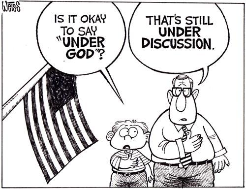 pledge of allegiance under god