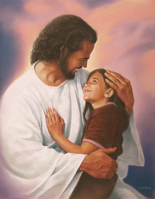 Jesus heals, Safe in the arms of jesus