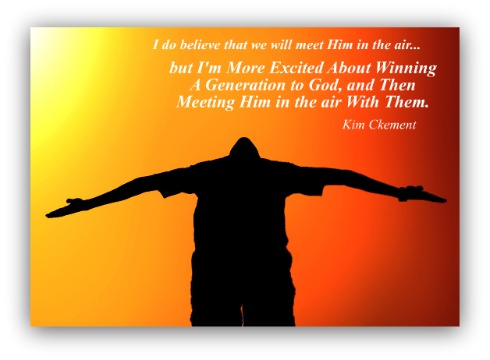 Kim Clement Quote, winning quote, win a generation, Kim Clement