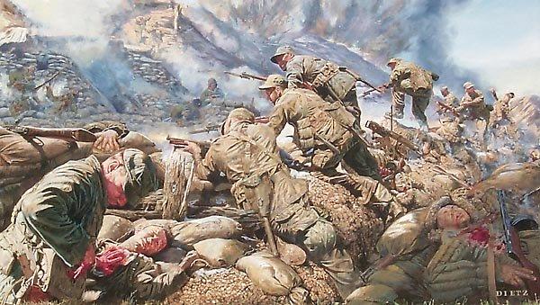 war, wounded, korean conflict, battle,