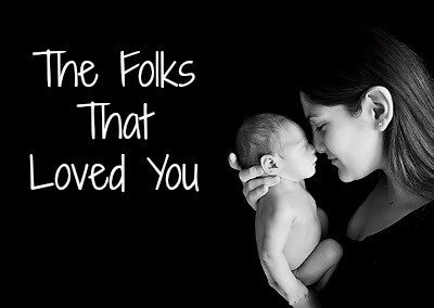 baby loved quote, mommy holding baby