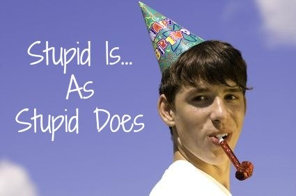 stupid is as stupid does, quote