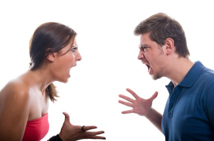 couple arguing, ugly argument, couple yelling, fighting