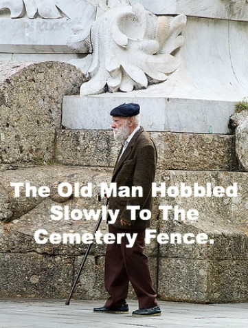 old man hobbled, funny christian story, christian humor