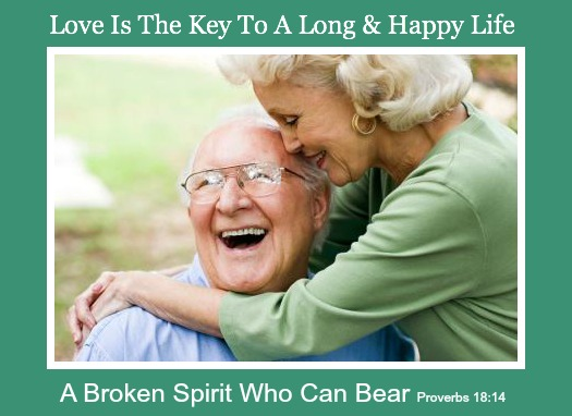 love is key, growing old, quote