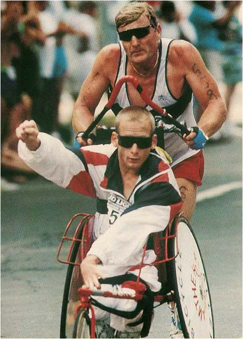 Team Hoyt, overcoming, never give up