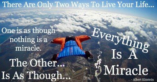thankfulness, gratitude, Einstein, quote