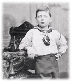 winston churchill, child