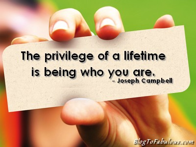 be who you are, be yourself, joseph campbellquote