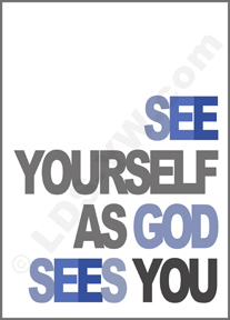 self image, as God Sees you, quote
